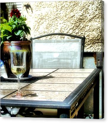 Spring Time Wine Canvas Print by Jimmy Ostgard