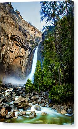 Early Morning Canvas Print - Spring Valley by Az Jackson