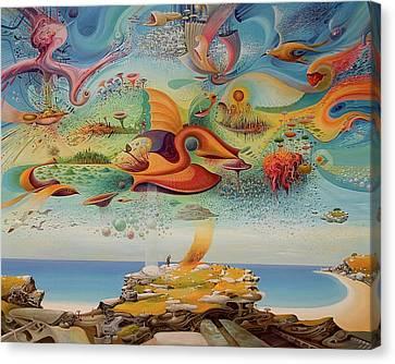 Spring Vibrations Canvas Print by Vasko Taskovski