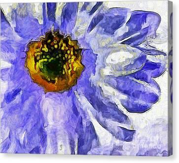 Spring Whimsy Canvas Print by Krissy Katsimbras
