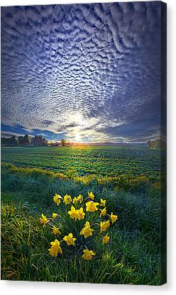 Springing To Life Canvas Print