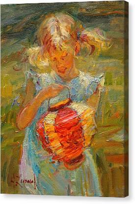Spring's Magic Canvas Print by Diane Leonard