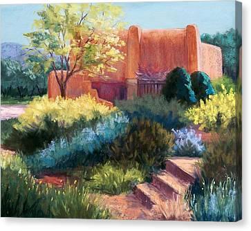 Springtime Adobe Canvas Print by Candy Mayer