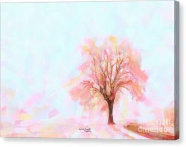 Springtime Canvas Print by Chris Armytage