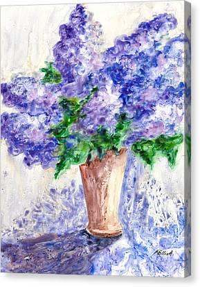 Springtime Fragrance Canvas Print by Marsha Elliott