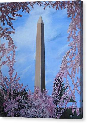Springtime In Dc Canvas Print