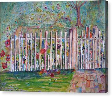 Springtime In Virginia Canvas Print by Marlene Robbins