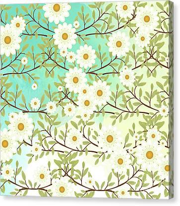 Springtime Scene Canvas Print
