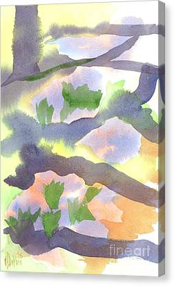 Springtime Wildflower Camouflage  Canvas Print by Kip DeVore