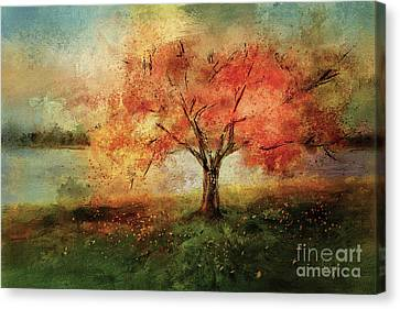 Sprinkled With Spring Canvas Print by Lois Bryan