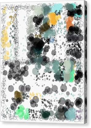 Spuh Lash 9-12-2015 #3 Canvas Print by Steven Harry Markowitz