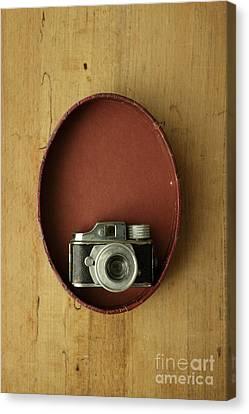 Hidden Canvas Print - Spy Camera by Edward Fielding