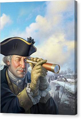 Spymaster George Canvas Print