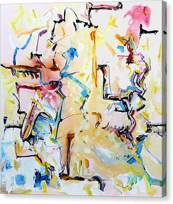 Squabbles Canvas Print