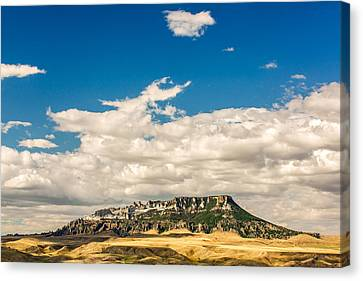 Square Butte Canvas Print