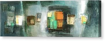 Square91.5 Canvas Print by Behzad Sohrabi