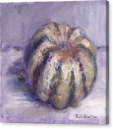 Squash - Party Of One - Original Contemporary Impressionist Painting Canvas Print