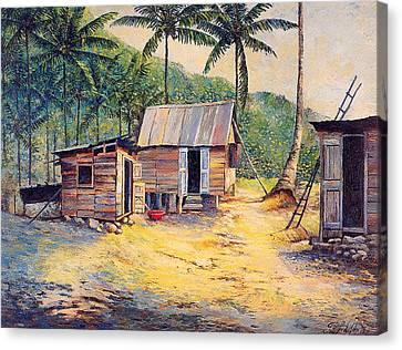 Squatters Canvas Print by Glenford John