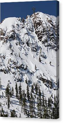 Squaw Valley Tram Hill  Canvas Print