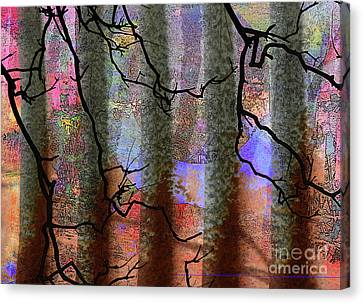 Squiggles And Lines Canvas Print by Robert Ball
