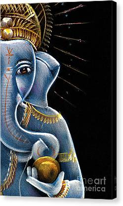 Sri Ganesha Canvas Print by Tim Gainey