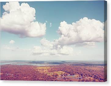 Sri Lankan Clouds In Pastel Canvas Print by Joseph Westrupp