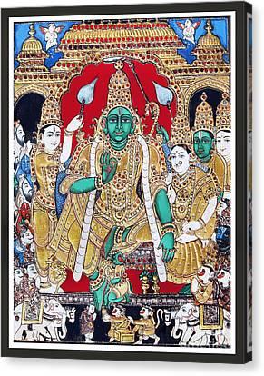 Sri Ramar Pattabhishekam Canvas Print