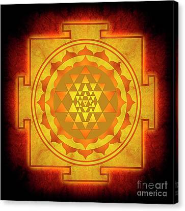 Sri Yantra - No. 1 Canvas Print