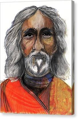 Sri Yukteswar Giri Canvas Print