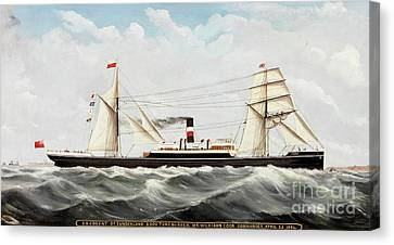 Ss Cogent Of Sunderland Canvas Print