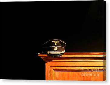 Chris Evans Canvas Print - Ss Officers Cap  by Chris Evans