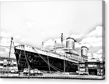 Ss United States Canvas Print by Bill Cannon
