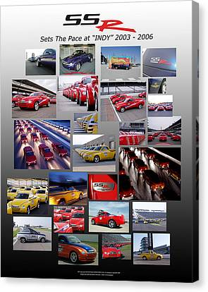 Ssr Sets The Pace 2003-2006 Canvas Print by Howard Kirchenbauer