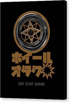 Ssr Star Shark Canvas Print by Benny Maxwell