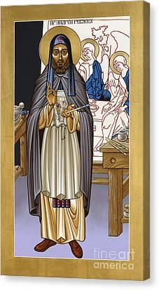 St. Andrei Rublev - Lwrub Canvas Print by Lewis Williams OFS