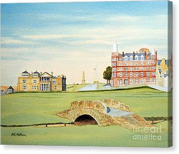 St Andrews Golf Course Scotland - Royal And Ancient Canvas Print