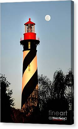 St. Augustine Lighthouse Canvas Print by Addison Fitzgerald