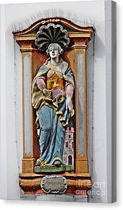 St Barbara Canvas Print by Sarah Loft