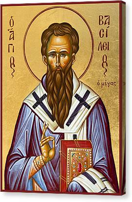 St Basil The Great Canvas Print by Julia Bridget Hayes