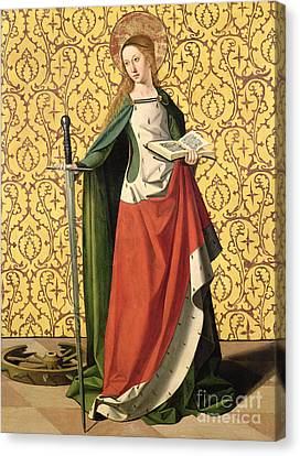 St. Catherine Of Alexandria Canvas Print
