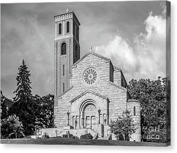 St. Catherine University Our Lady Of Victory Chapel Canvas Print by University Icons