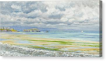 St. Catherine's Isle Canvas Print by John Brett