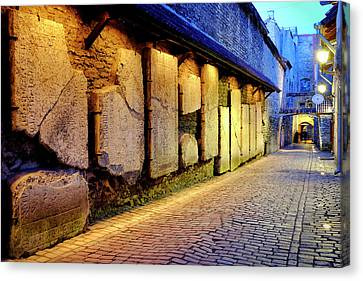 Canvas Print featuring the photograph St. Catherine's Passage by Fabrizio Troiani