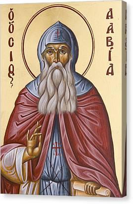 St David Of Evia Canvas Print