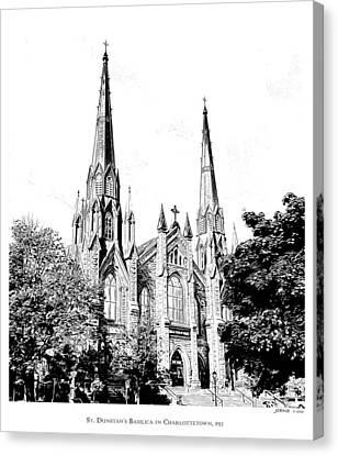 St Dunstans Basilica Canvas Print