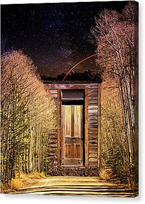 St. Elmo's Door Canvas Print by Mike Braun