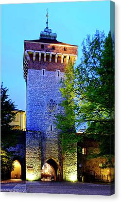 Canvas Print featuring the photograph St. Florian's Gate by Fabrizio Troiani