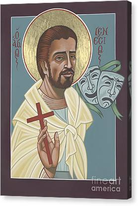 Canvas Print featuring the painting St Genisius Patron Of Actors 279 by William Hart McNichols