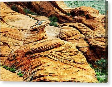 Mountain Canvas Print - St George Desert by David Millenheft