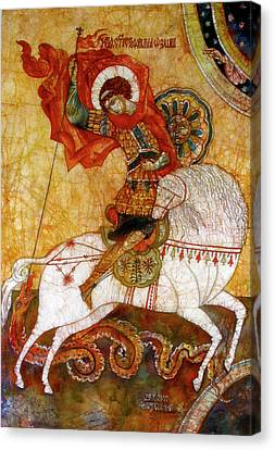 St George I Canvas Print by Tanya Ilyakhova